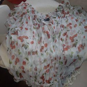 Dolce and Gabbana silk ss blouse IT 40